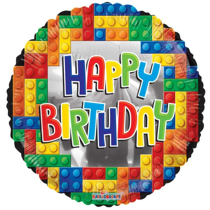 Happy Birthday Lego (18 inch)