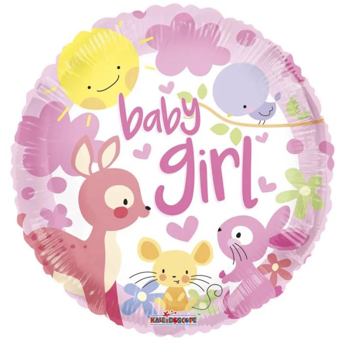 new baby girl balloon design
