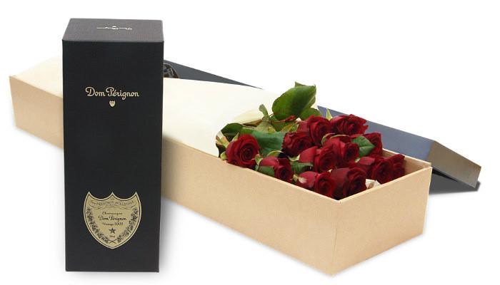 12 Red & Dom Perignon