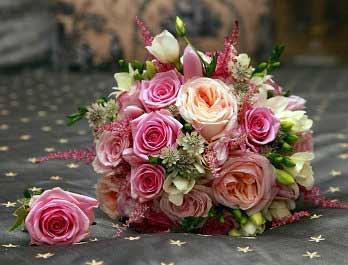 Pink Bq Wedding