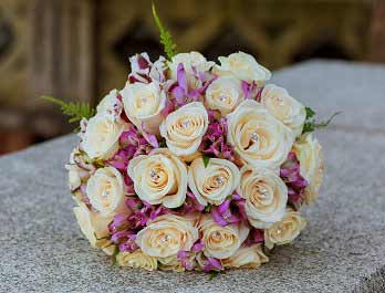 Bouquet With Diamontes
