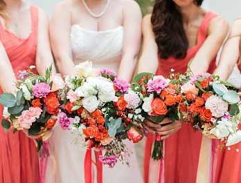 Birdesmaids Bouquets