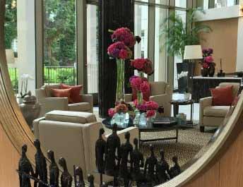 Hotel Lobby Flowers