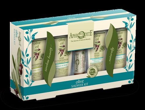 Olive Oil Shower Kit