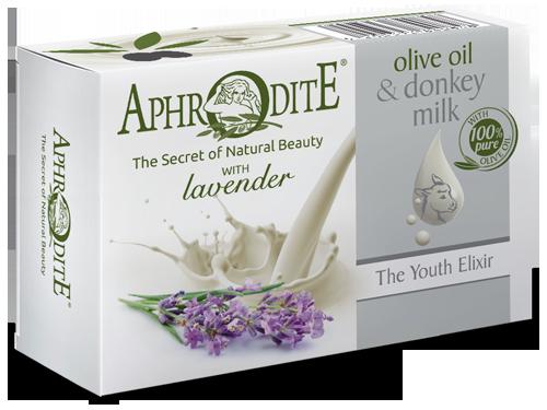 Olive Oil Soap with Donkey Milk & Lavender