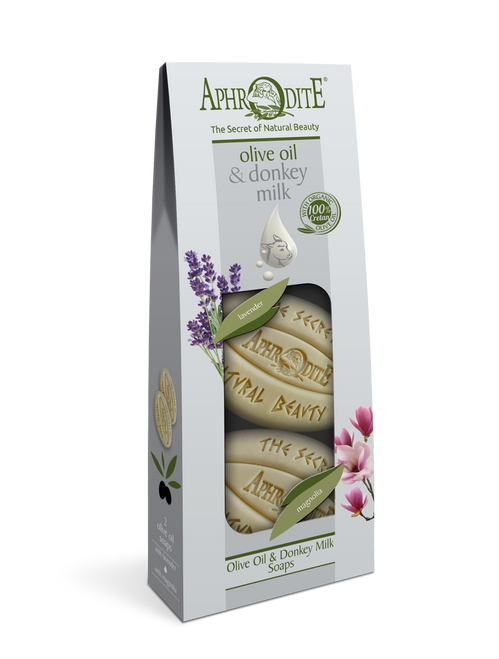 Olive Oil & Donkey Milk Floral 2 Pack