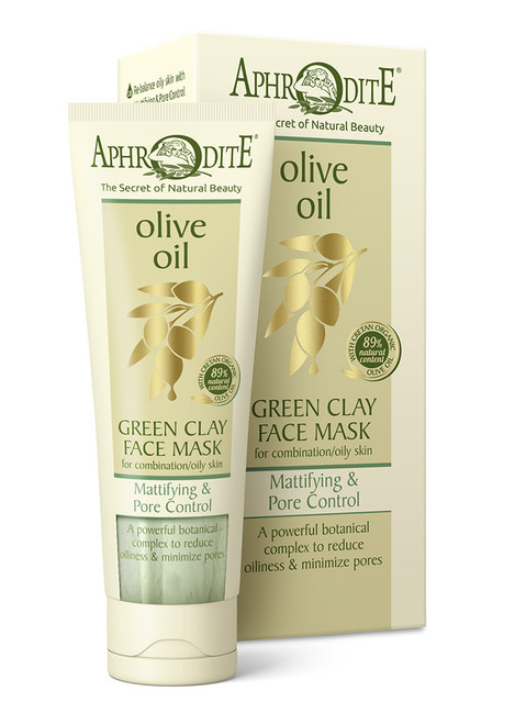 Mattifying &  Pore Control Green Clay Mask