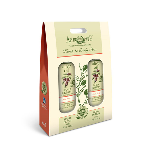 Travel Hand & Body Spa Kit Aloe Vera