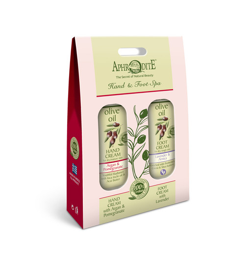Travel Hand & Body Spa Kit Pomegranate & Lavender