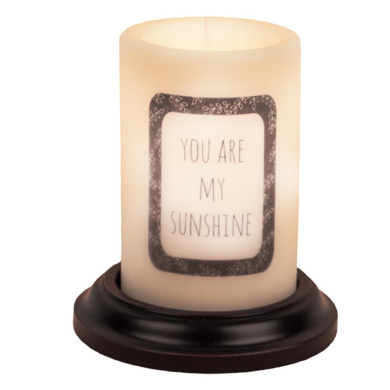Candle Sleeve - You Are My Sunshine - 400000488189