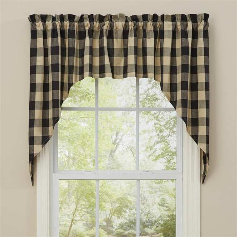 Wicklow Swags - Black 72x36 - 762242401334