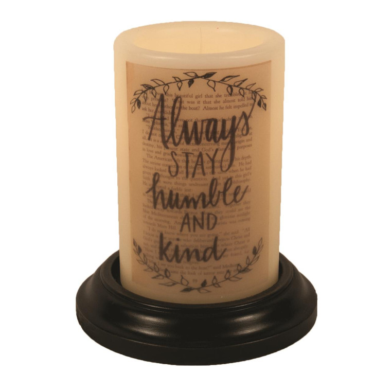 Candle Sleeve - Always Stay Humble & Kind - 400000507125