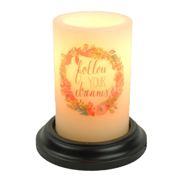 Candle Sleeve - Follow Your Dreams Floral - 400000510392