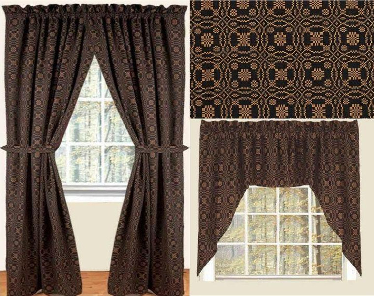 Lover's Knot Curtain Collection -