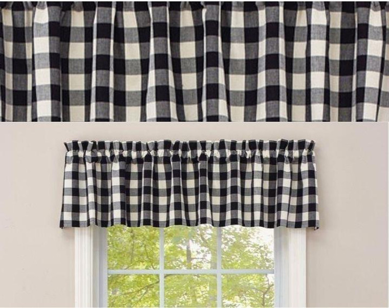 Checkerboard Star Curtain Collection -