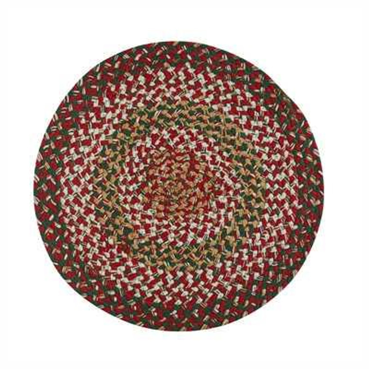 Holly Berry Braided Placemats - Set of 6 - 762242429369