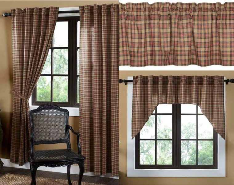 Crosswoods Curtain Collection -