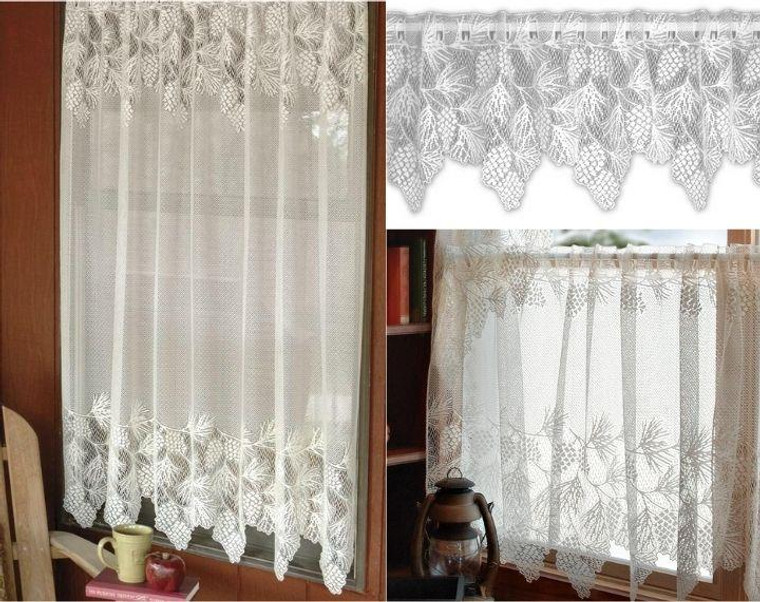 Woodland Lace Curtain Collection -