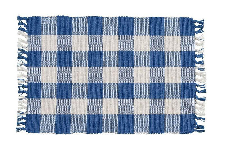 Wicklow Check Placemats - China Blue Set of 6 - 762242994898