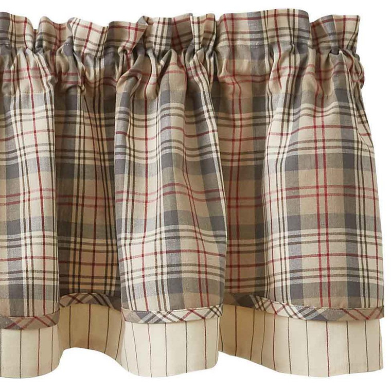 Gentry Valance - Lined Layered 72x16 - 762242998025