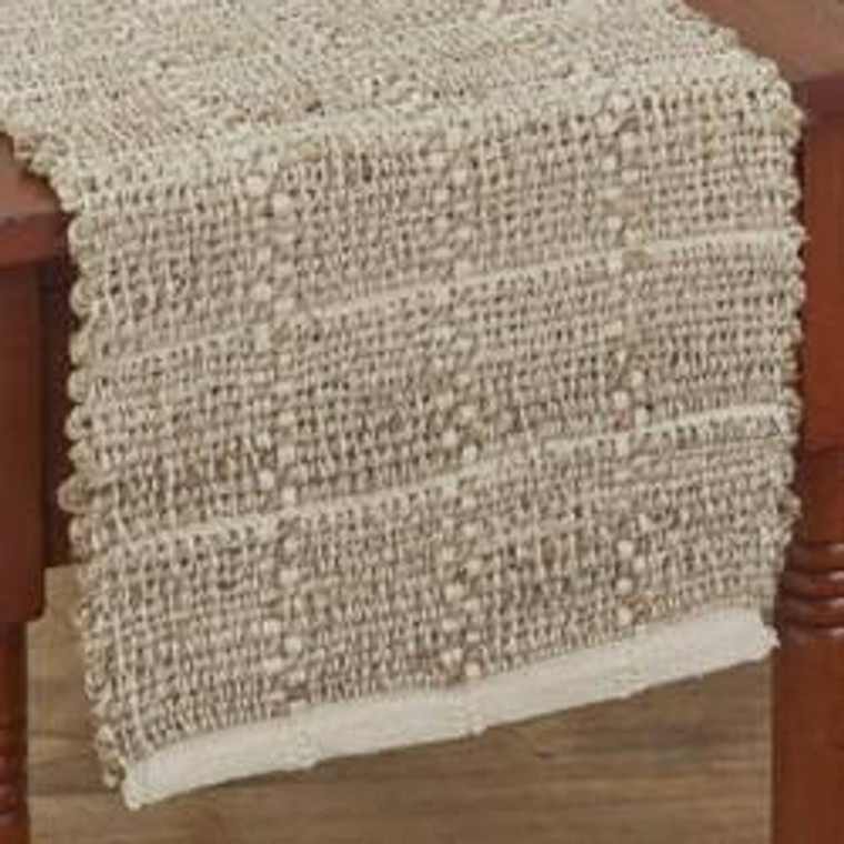 Origins Jute and Cotton Table Runners - Sand - 762242006416