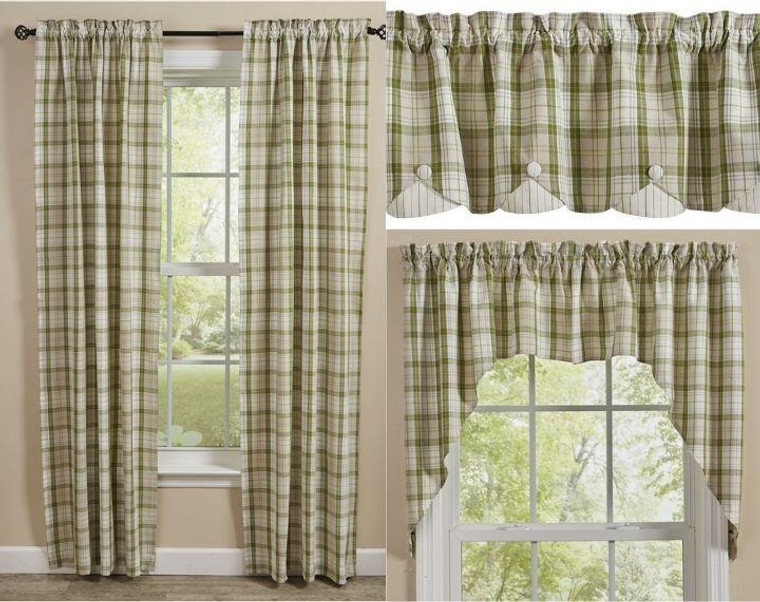 Peaceful Cottage Curtain Collection -