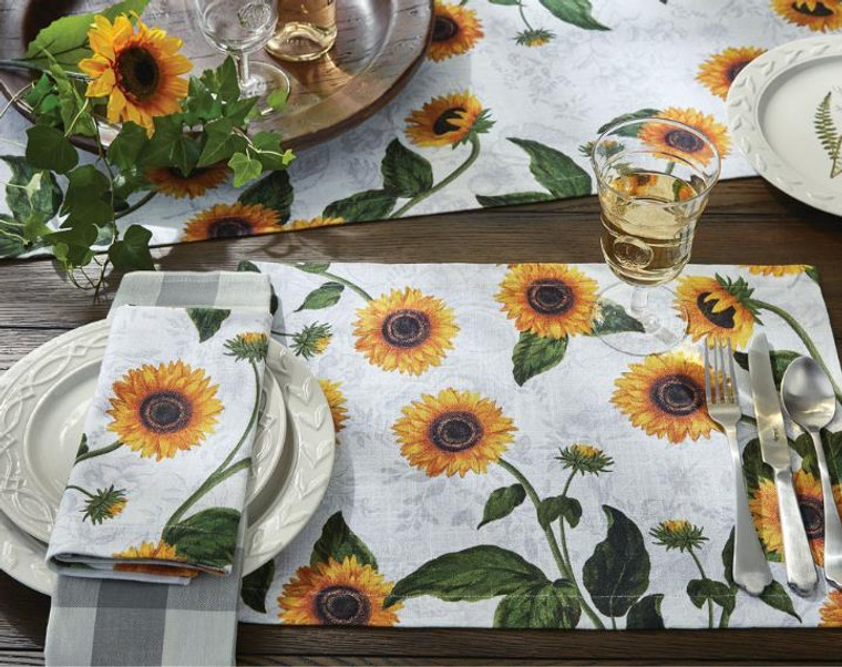 Sunflower Toile Kitchen & Dining Collection -