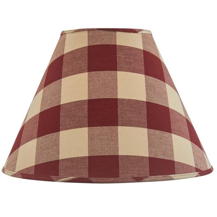Wicklow Check Lampshades - Garnet - 762242022157