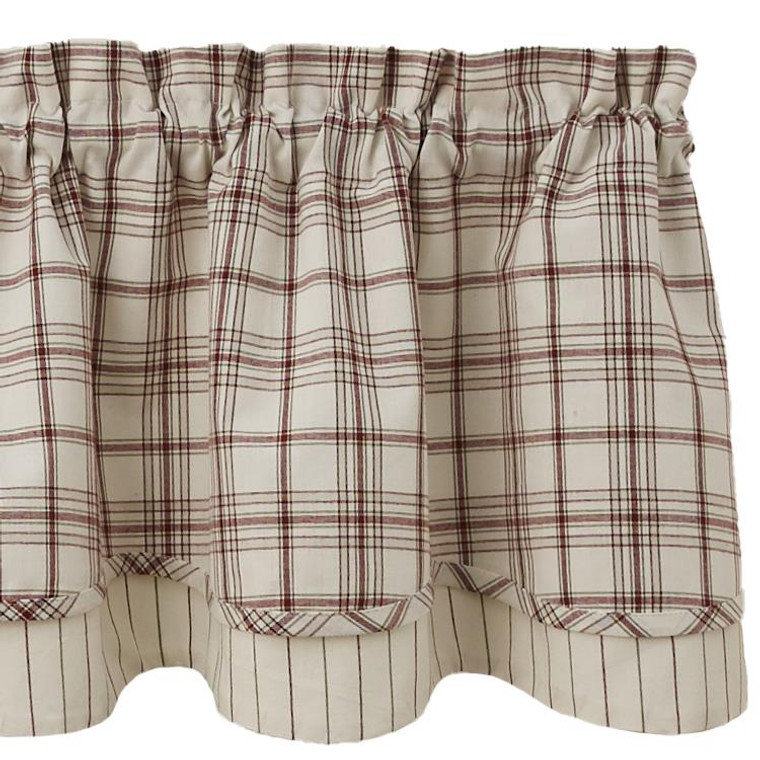 Apple Orchard Valance - Lined Layered 72x16 - 762242008113