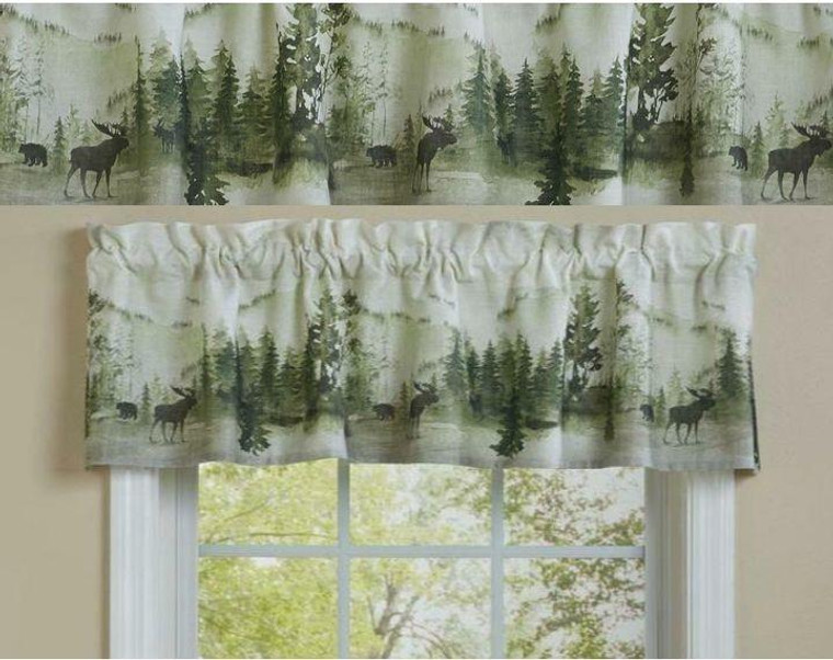 Watercolor Wildlife Curtain Collection -