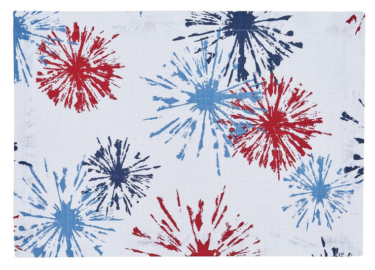 Fireworks Placemats - Set of 6 - 762242030343