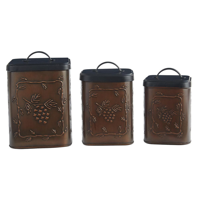 Valley Pine Canisters - Set of 3 - 762242029835