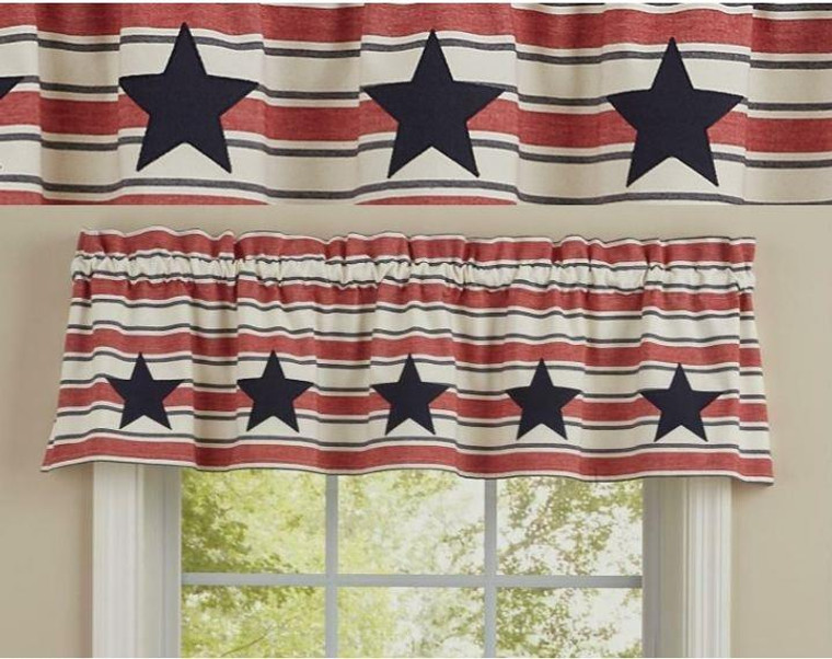 Stars & Stripes Curtain Collection -