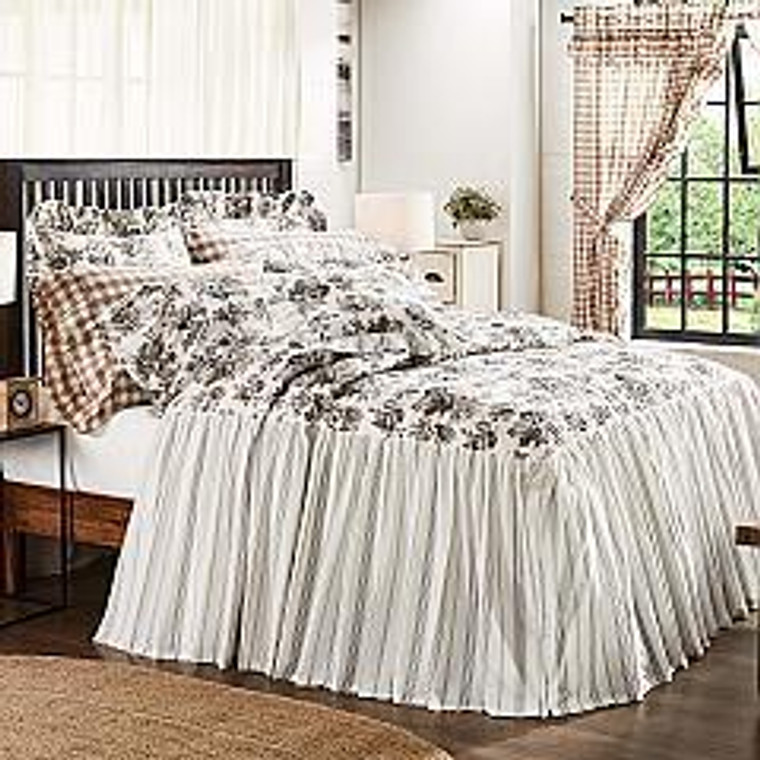 Annie Portabella Floral Ruffled Coverlets - 810055893393