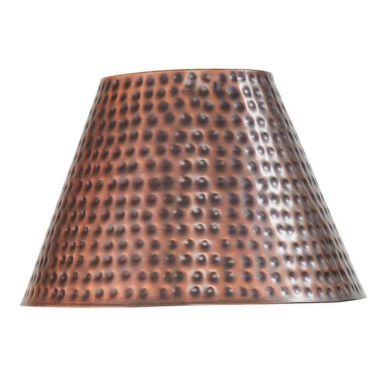 """Hammered Copper Finish Lampshade -10"""" - 762242035751"""