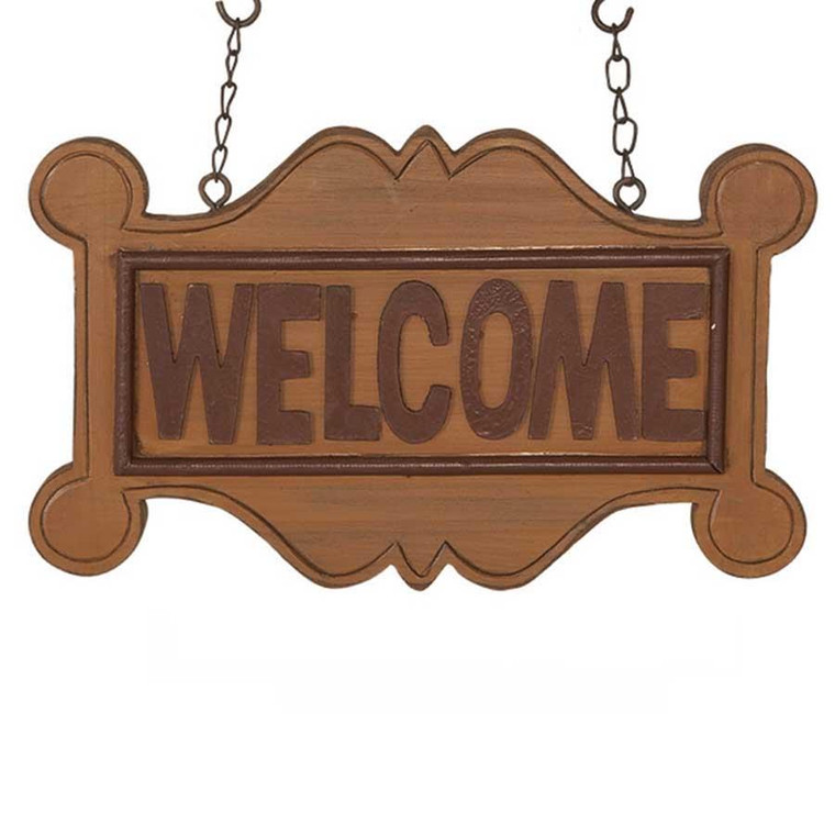 Hanging Sign - Welcome - 400000123066