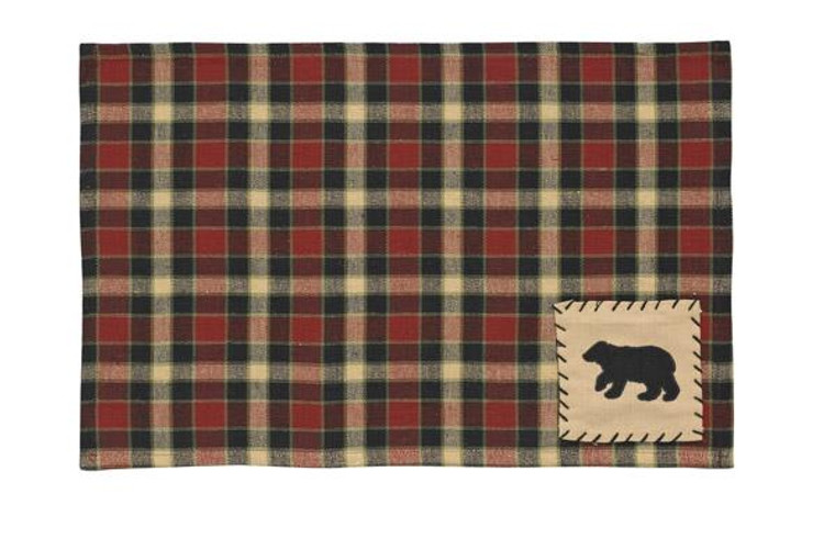 Concord Placemats - Bear Patch Set of 6 - 762242277281