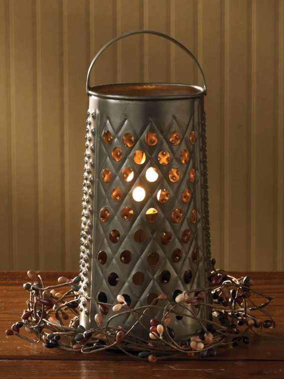 Cheese Grater Lamp - 762242293878