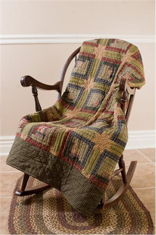 Tea Cabin Throw - Quilted - 841985030244