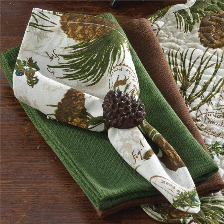 Walk in the Woods Napkins - Set of 6 - 762242331006