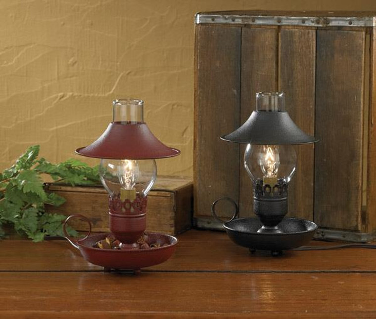 """Chamberstick Lamp with 9"""" Shade - Black - 762242209459"""