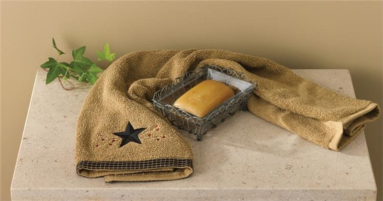 Primitive Vintage Wire Soap Dish with Glass - 762242343795