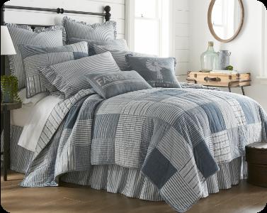 Sawyer Mill Blue Bedding