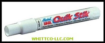 WHITE QUIK STIK PAINT MARKER 0-140DEG. M|61051|434-61051|WHITCO Industiral Supplies