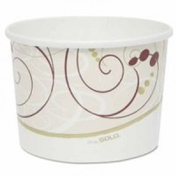 64OZ UNPRTD PAPER FOOD CONTAINER DBL POLY12/25   Sold ONLY in the QUANTITY INCREMENTS  of  1 per & Packaged  1Case