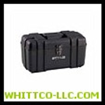 """17"""" PLASTIC TOOL BOX - BLACK   Sold ONLY in the QUANTITY INCREMENTS  of  1 per & Packaged  1EA"""