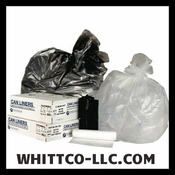 S243308N Ibs-Inteplast Can liners trash bags WHITTCO Industrail supplies