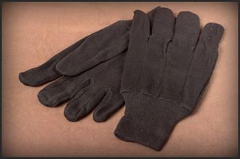 Brown jersey, knit w J2109-XL