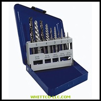 10 PC SET SPIRAL FLUTE S|11119|585-11119|WHITCO Industiral Supplies