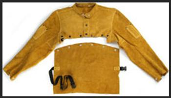 14 leather bib, Kevl 73-14